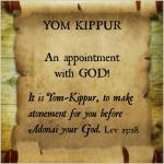 Yom Kippur scroll