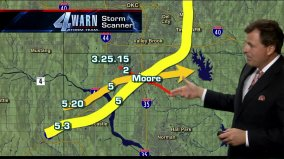 path of Moore tornados