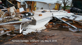 Tornado damage May 6 OKC